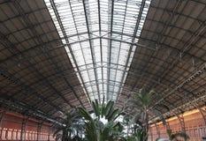 Estação de comboio de Atocha fotografia de stock royalty free