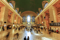 Interior da estação de Grand Central, New York Fotografia de Stock Royalty Free