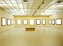 Interior da galeria fotos de stock