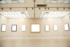 Interior da galeria imagem de stock