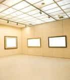 Interior da galeria imagens de stock