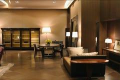 Interior da HOME no estilo clássico fotografia de stock