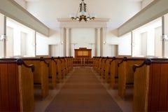 Interior da igreja Fotografia de Stock Royalty Free