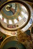 Interior da igreja imagens de stock royalty free