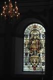 Interior da igreja anglicana em Inglaterra Imagens de Stock Royalty Free