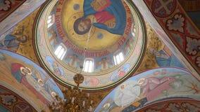 Interior da igreja da Ucrânia vídeos de arquivo