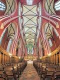 Interior da igreja de Doberan em Doberan mau, Alemanha foto de stock royalty free