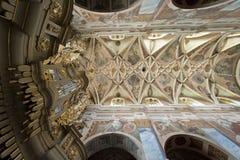 Interior da igreja de Martin de Saint Imagem de Stock