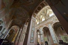 Interior da igreja de Martin idoso de Saint em Opatow Fotografia de Stock Royalty Free