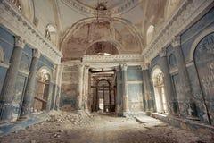Interior da igreja de nossa senhora de Kazan Fotografia de Stock