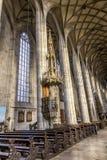 Interior da igreja de St George Fotografia de Stock Royalty Free