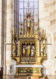 Interior da igreja de St George Fotos de Stock Royalty Free