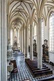 Interior da igreja de St James, Brno, Moravia, república checa Fotografia de Stock Royalty Free