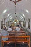 Interior da igreja de St Thomas Fotos de Stock