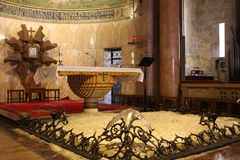 Interior da igreja de todas as nações Fotografia de Stock