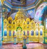 Interior da igreja do Espírito Santo Foto de Stock