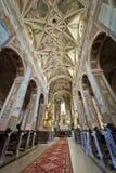Interior da igreja em Opatow Imagem de Stock Royalty Free
