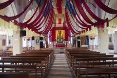 Interior da igreja sagrado do coração em Ooty Foto de Stock