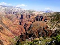 Interior da ilha de Socotra Imagem de Stock
