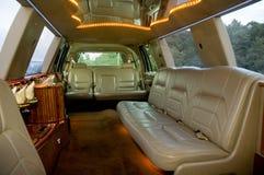 Interior da limusina fotografia de stock royalty free