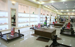 Interior da loja Fotografia de Stock Royalty Free