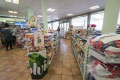 Interior da loja Imagem de Stock Royalty Free