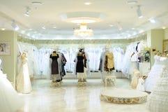 Interior da loja da forma do casamento Imagens de Stock Royalty Free