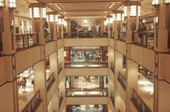 Interior da loja de Bloomingdale Foto de Stock