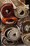 Interior da loja do tapete Imagens de Stock Royalty Free