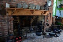 Interior da mansão de Blennerhasset Foto de Stock Royalty Free