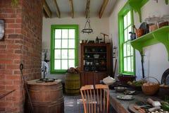 Interior da mansão de Blennerhasset Fotografia de Stock
