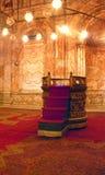 Interior da mesquita de Mohammed Ali Imagens de Stock