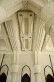 Interior da mesquita a do território federal K um Masjid Wilayah Persekutuan Fotografia de Stock Royalty Free