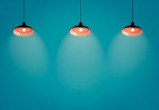 Interior da oficina de artigos de iluminação do teto Imagem de Stock Royalty Free