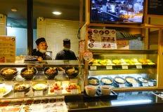 Interior da praça da alimentação de Sião em Banguecoque, Tailândia Imagem de Stock Royalty Free