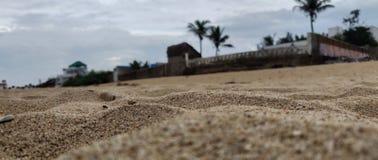 Interior da praia House fotos de stock royalty free