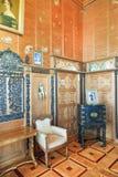 Interior da sala da sala de estar no palácio de Vorontsov Fotografia de Stock Royalty Free