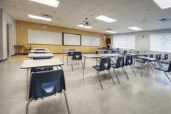 Interior da sala de aula Fotografia de Stock Royalty Free