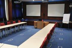 Interior da sala de conferências Imagens de Stock Royalty Free