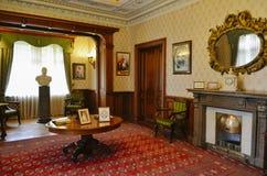 Interior da sala de funcionamento no palácio de Masandra, Crimeia Fotos de Stock