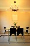Interior da sala de jantar Imagem de Stock