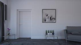Interior da sala de visitas Imagem de Stock