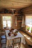 Interior da sala do camponês Imagem de Stock Royalty Free