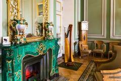 Interior da sala no palácio de St Petersburg Yusupov Imagem de Stock