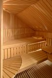 Interior da sauna foto de stock royalty free
