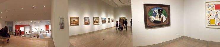 Interior of Dallas Museum of art Stock Image