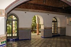Dar Si Said palace. Marrakesh. Morocco Royalty Free Stock Image