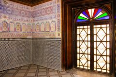 Dar Si Said palace. Marrakesh. Morocco Royalty Free Stock Photo