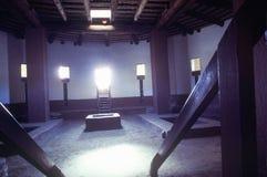 Interior das ruínas indianas astecas, La Plata, nanômetro imagens de stock