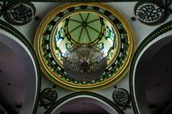 Interior de Abdul Gaffoor Mosque Imagenes de archivo